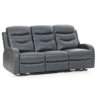 Milano Power Reclining Sofa  Gray