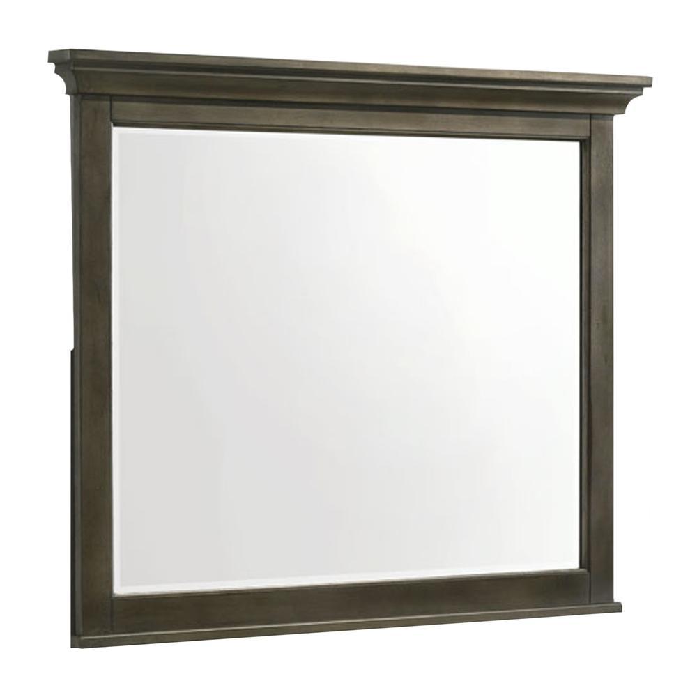 San Mateo Dresser Mirror  Gray