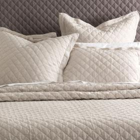 Oslo 5pc Queen Quilt Set Natural