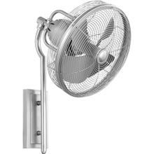 See Details - Veranda 13-in Satin Nickel Indoor/Outdoor Wall Fan (4-Blade)