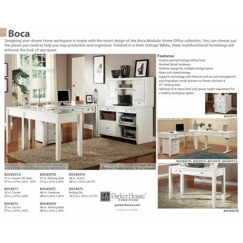 Parker House - BOCA Corner Table