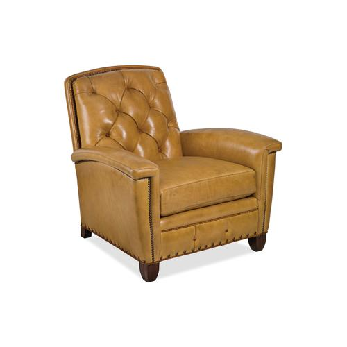 6155-1-T FRENCH CURVE TUFTED CHAIR