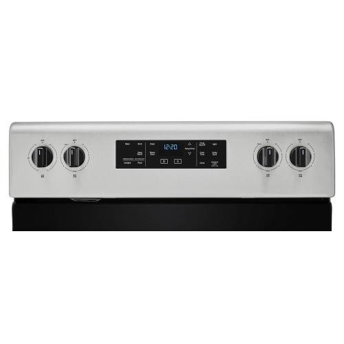 Whirlpool Canada - 5.3 cu. ft. Whirlpool® electric range with Frozen Bake technology