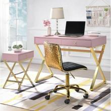 ACME Coleen Desk - 92612 - Pink & Gold