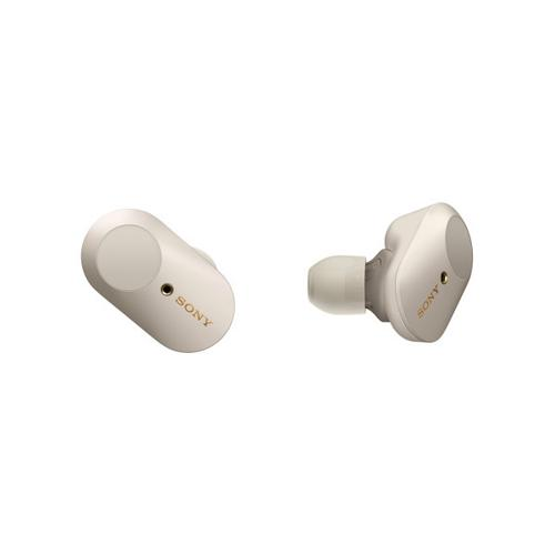 Gallery - Truly Wireless In-ear Noise Canceling Headphones with Microphone - Silver