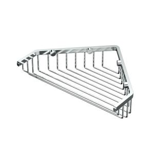 "Corner Shower Basket 9 1/4""W in Chrome Product Image"