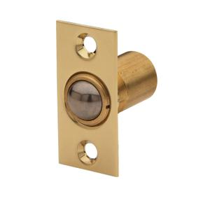Lifetime Polished Brass Adjustable Ball Catch Product Image