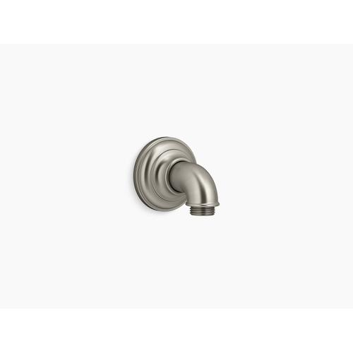 Vibrant Brushed Nickel Wall-mount Supply Elbow