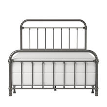 Kirkland Metal Full Bed, Aged Pewter