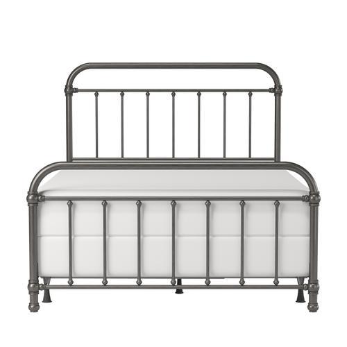 Gallery - Kirkland Metal Full Bed, Aged Pewter