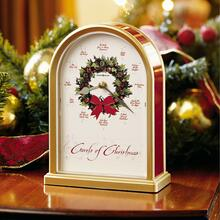 Howard Miller Carols of Christmas II Table Clock 645424