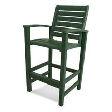View Product - Signature Bar Chair in Green