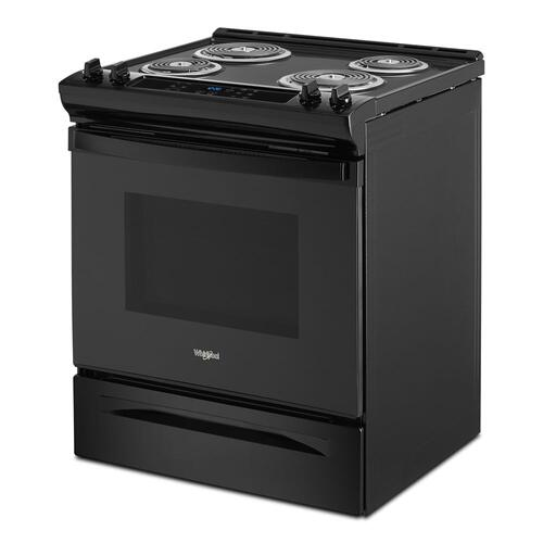 Whirlpool - 4.8 Cu. Ft. Whirlpool® Electric Range with Frozen Bake™ Technology