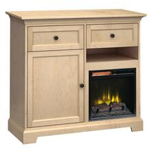 See Details - FT46K Extra Tall Fireplace Custom TV Console