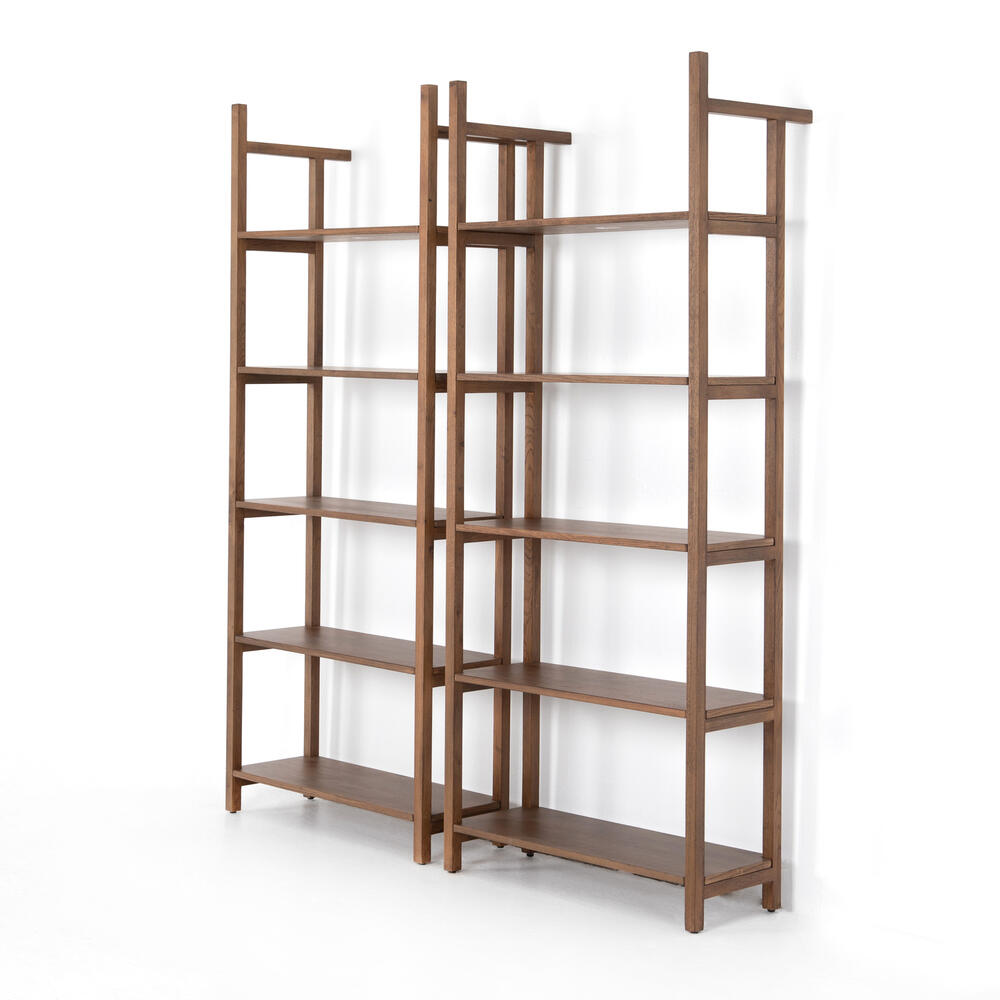 Teddy Double Bookshelf-vintage Sienna