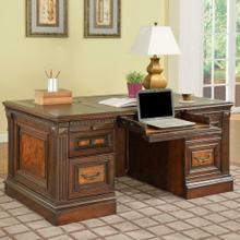 See Details - CORSICA Double Pedestal Executive Desk