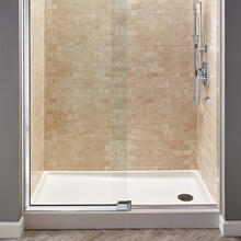 Studio 60x32-inch Shower Base - Arctic White