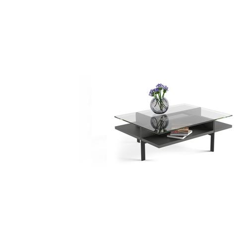 BDI Furniture - Terrace 1152 Rectangular Coffee Table in Charcoal Stained Ash