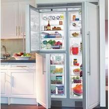 """View Product - 24"""" Built-in BioFresh Refrigerator & Freezer Premium, NoFrost ~ BioFresh Refrigerator & Freezer, stainless steel finish"""