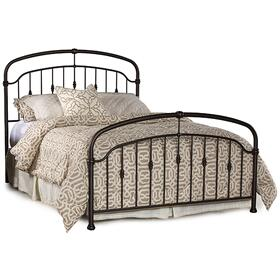 Pearson King Bed Set, Oiled Bronze