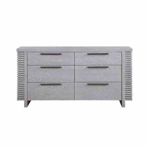 ACME Aromas Dresser - 28125 - Coastal - Wood (Poplar), Wood Veneer (Oak), MDF, Ply, PB - White Oak
