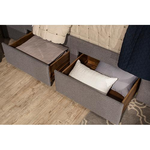 Product Image - Kerstein Queen Storage Bed Set - Orly Gray