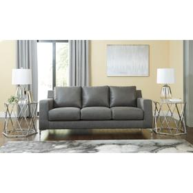 Ryler Sofa & Loveseat Charcoal