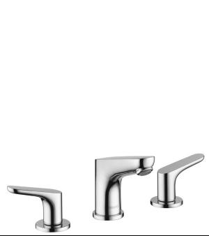 Chrome Widespread Faucet 100 with Pop-Up Drain, 1.2 GPM Product Image