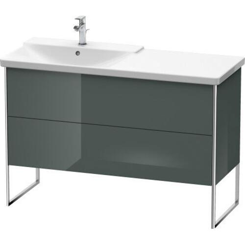Product Image - Vanity Unit Floorstanding, Dolomiti Gray High Gloss (lacquer)