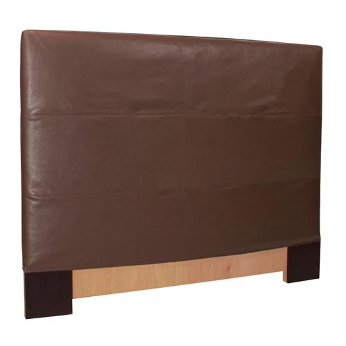 King Slipcovered Headboard Avanti Pecan (Base and Cover Included)