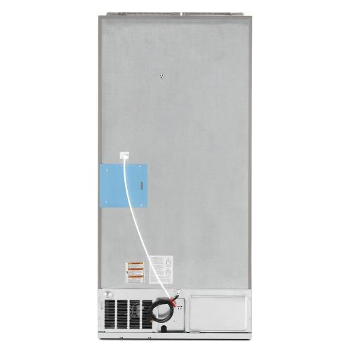 Maytag - 33- Inch Wide French Door Refrigerator with Beverage Chiller™ Compartment - 22 Cu. Ft.
