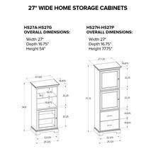 HS27C Custom Home Storage Cabinet