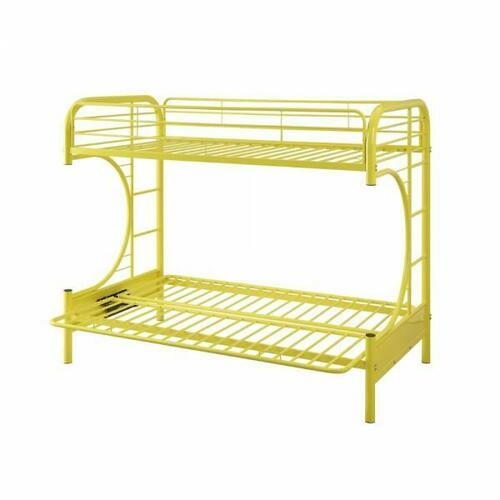 ACME Eclipse Twin/Full/Futon Bunk Bed - 02091W-YL - Yellow