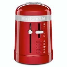 See Details - 2 Slice Long Slot Toaster with High-Lift Lever - Empire Red