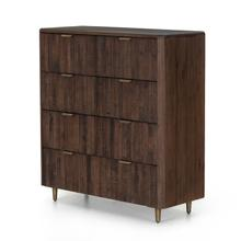 Lineo 7 Drawer Dresser-rustic Saddle Tan