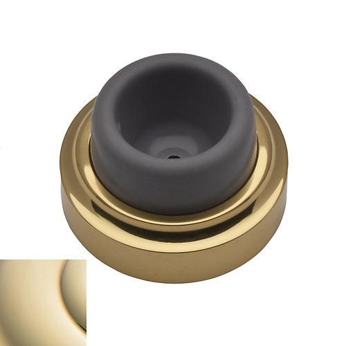 Baldwin - Lifetime Polished Brass Wall Flush Bumper