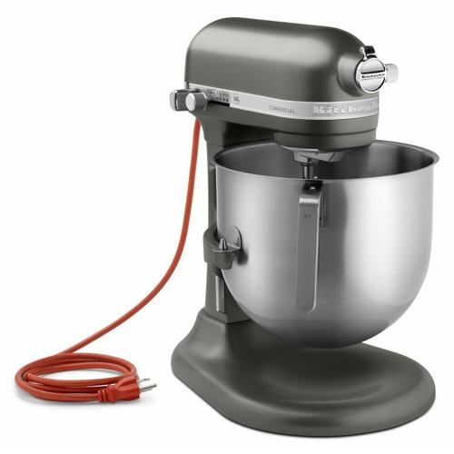 Gallery - NSF Certified® Commercial Series 8-Qt Bowl Lift Stand Mixer - Dark Pewter