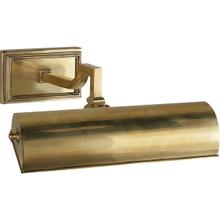 Alexa Hampton Dean 40 watt 11 inch Natural Brass Picture Light Wall Light