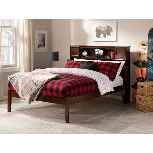 Atlantic Furniture - Newport Full Open Foot Walnut
