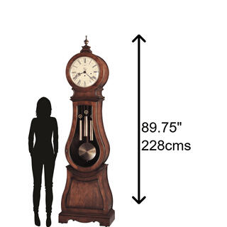See Details - Howard Miller Arendal Grandfather Clock 611005