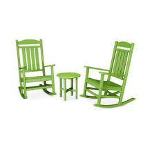 View Product - Presidential 3-Piece Rocker Set in Lime