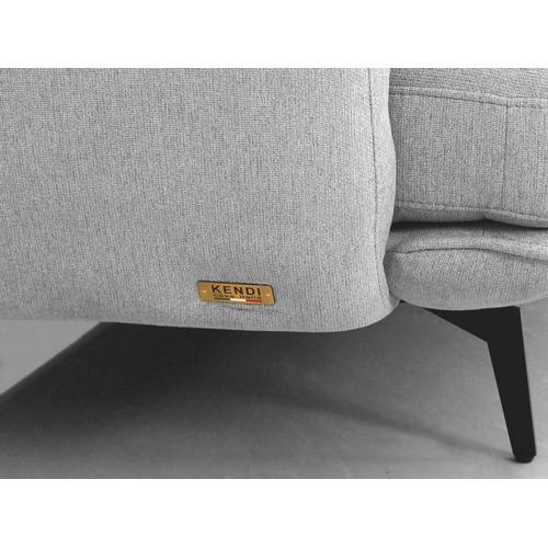 VIG Furniture - Divani Casa Dolly - Modern Light Grey Fabric Sofa