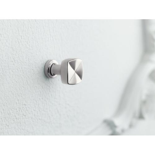 Vibrant Brushed Nickel Knob Cabinet Hardware