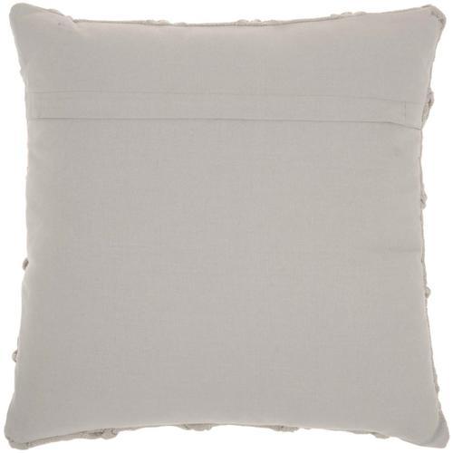 "Kathy Ireland Pillow Aa242 Grey 18"" X 18"" Throw Pillow"