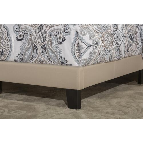 Delaney Full Upholstered Bed, Linen