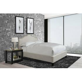 JAMIE - FLOUR California King Bed 6/0 (Natural)