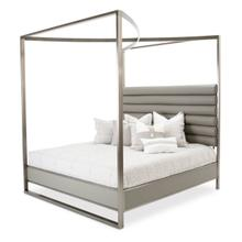 See Details - Cal King Canopy Bed