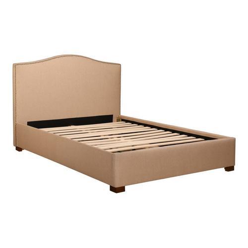 Zale King Bed Oatmeal