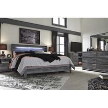 Baystorm - Gray 2 Piece Bed (King)