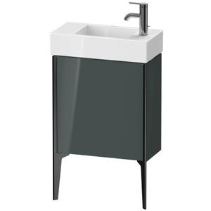 Vanity Unit Floorstanding, Dolomiti Gray High Gloss (lacquer)